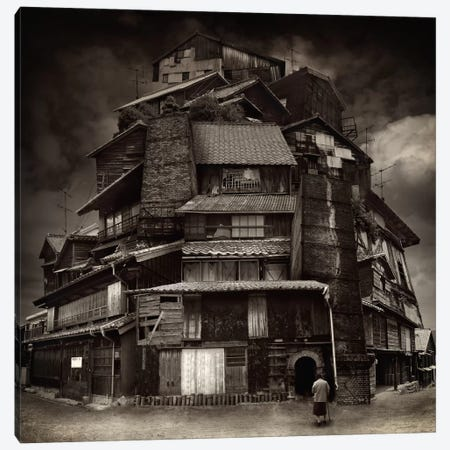 Big Old House Canvas Print #OXM2497} by Kiyo Murakami Canvas Artwork