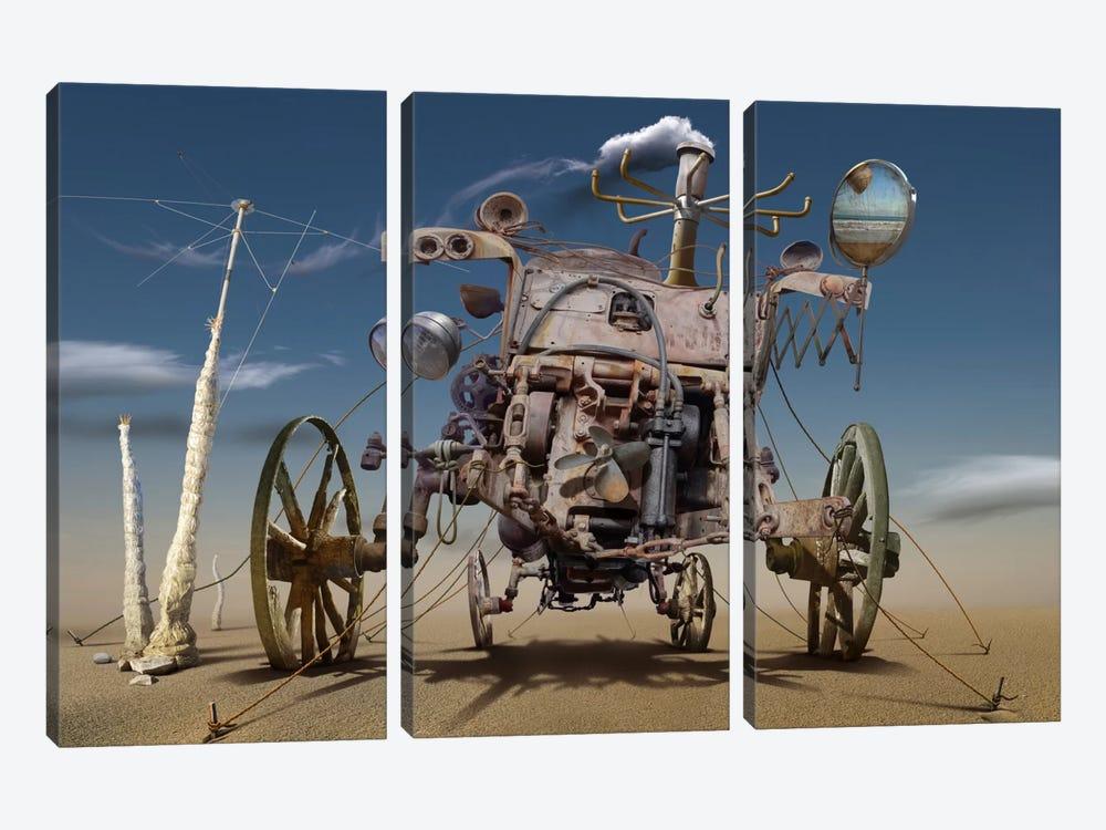 Surreal IV by Radoslav Penchev 3-piece Canvas Wall Art