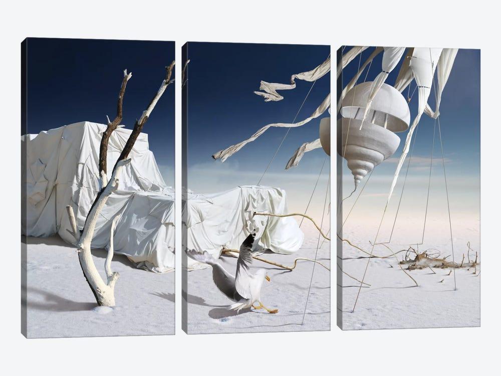 Surreal VII by Radoslav Penchev 3-piece Canvas Art Print