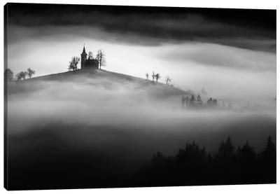 Above The Mist Canvas Art Print