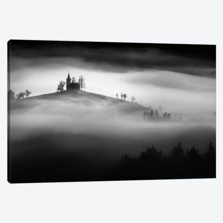 Above The Mist Canvas Print #OXM250} by Sandi Bertoncelj Canvas Print