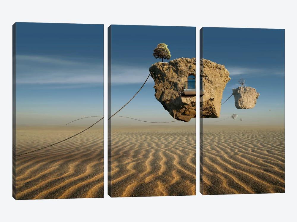 Surreal XI by Radoslav Penchev 3-piece Canvas Art