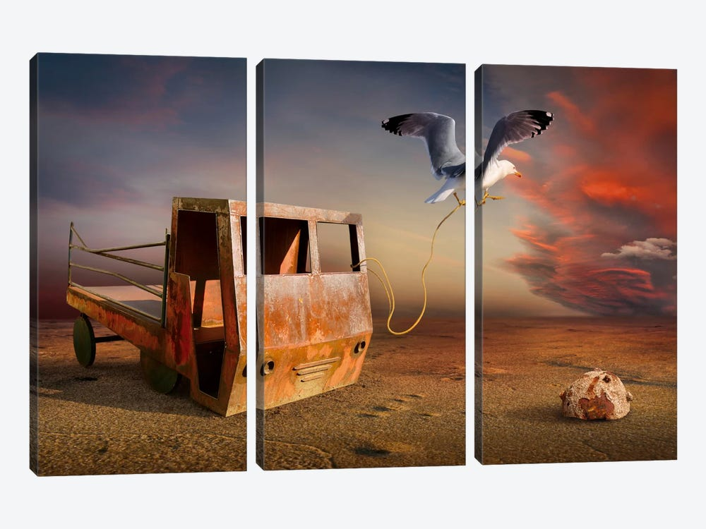 Surreal XII by Radoslav Penchev 3-piece Art Print