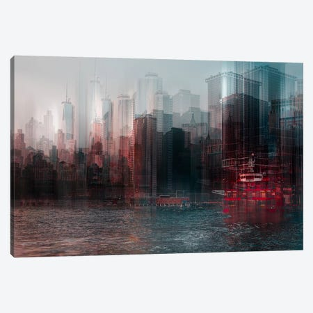 On The Hudson Canvas Print #OXM2513} by Carmine Chiriaco Canvas Art