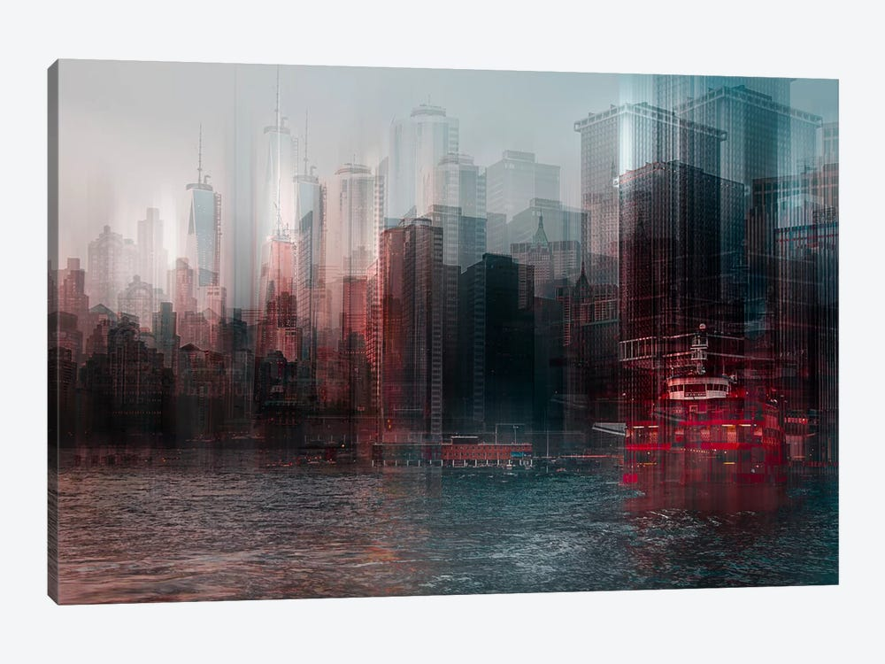 On The Hudson by Carmine Chiriaco 1-piece Art Print
