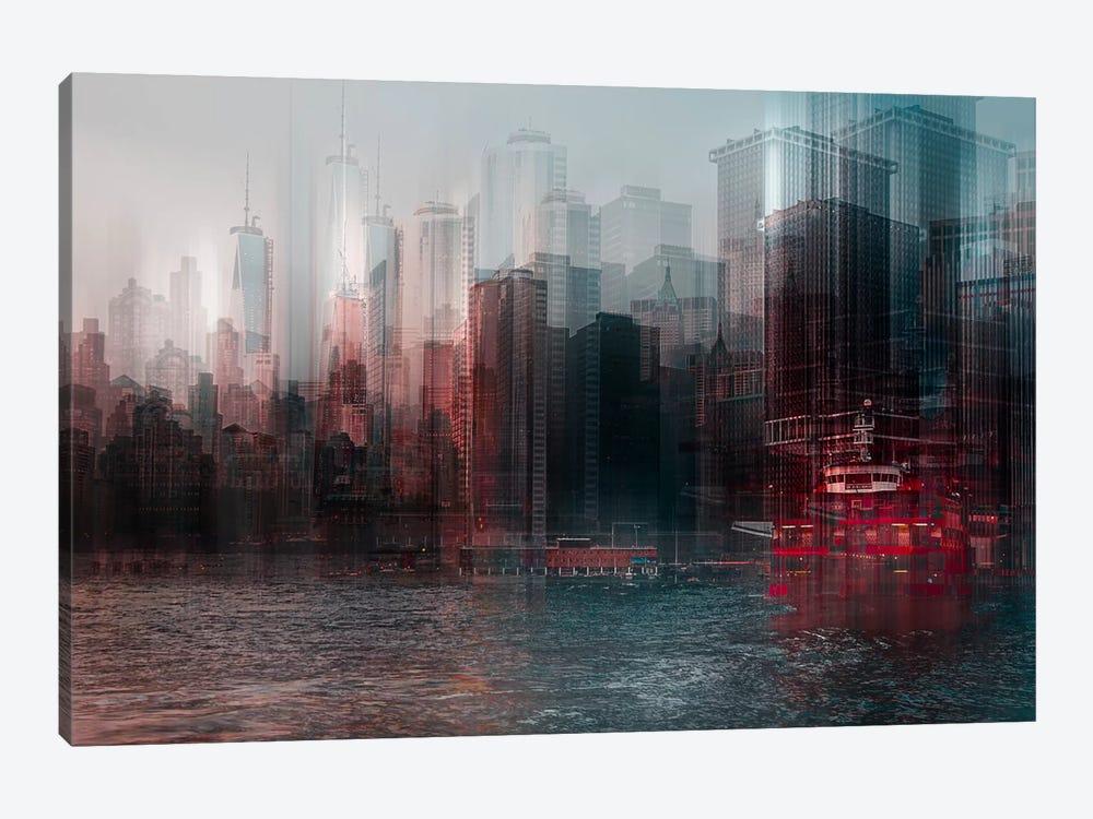 On The Hudson by Carmine Chiriaco 1-piece Art Print