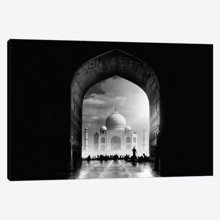 Taj Mahal Canvas Print #OXM2517} by Hussain Buhligaha Art Print