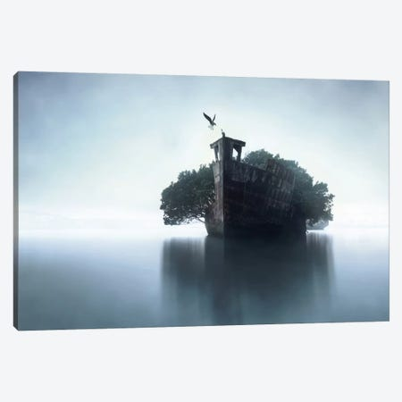 100 Years Later Canvas Print #OXM2518} by Terry F Canvas Wall Art