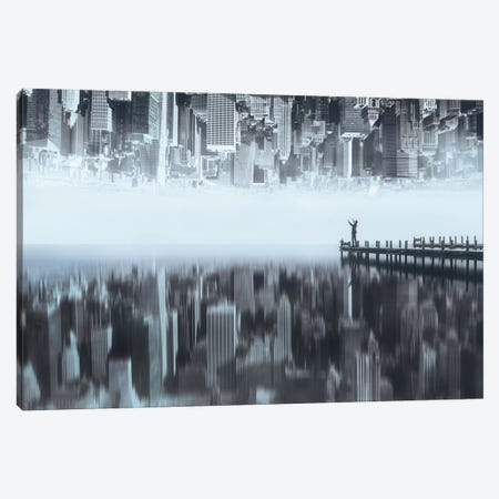 City Of Mirror Canvas Print #OXM2520} by Terry F Canvas Print