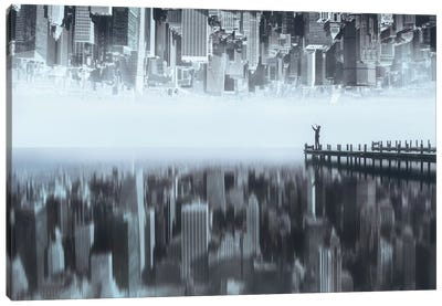 City Of Mirror Canvas Art Print