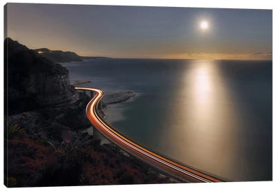 Sea Cliff Bridge Canvas Art Print