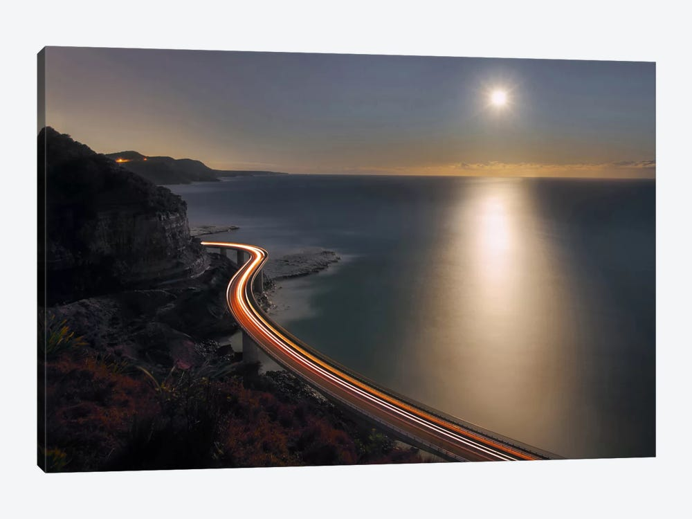 Sea Cliff Bridge by Terry F 1-piece Canvas Print