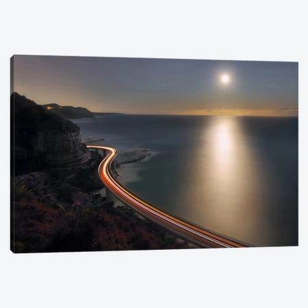 Sea Cliff Bridge Canvas Print #OXM2524} by Terry F Canvas Wall Art
