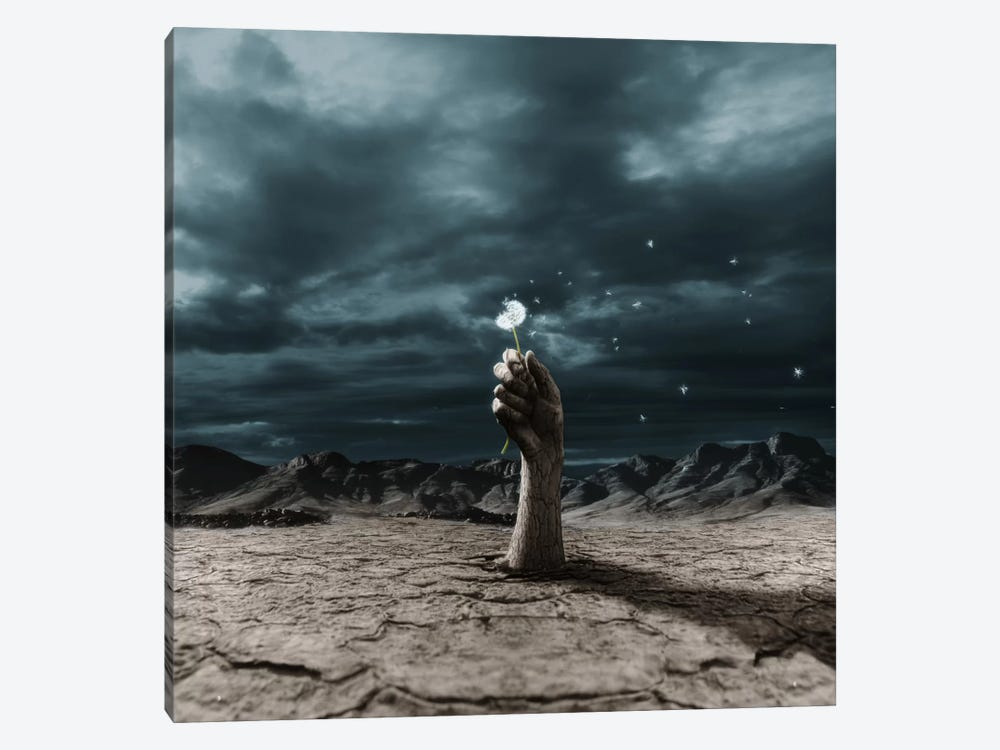 The End? by Terry F 1-piece Canvas Print