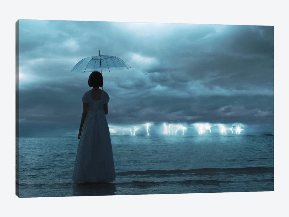 The Silent Sea by Terry F 1-piece Canvas Art