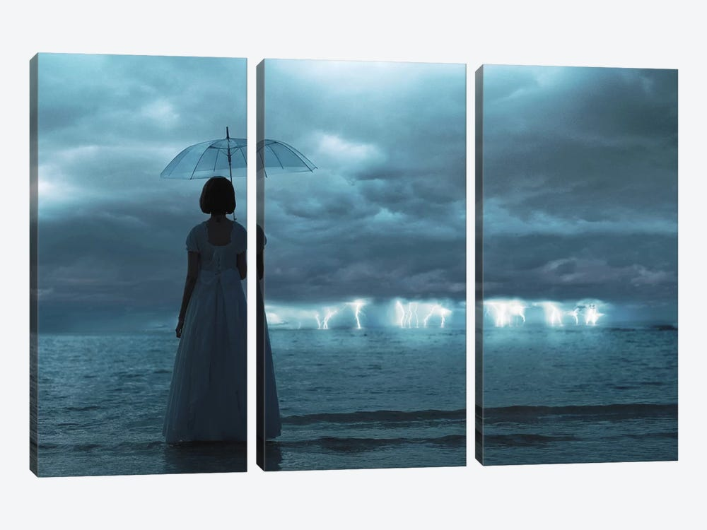 The Silent Sea by Terry F 3-piece Canvas Artwork