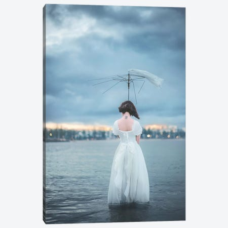 Umbrella Canvas Print #OXM2528} by Terry F Art Print