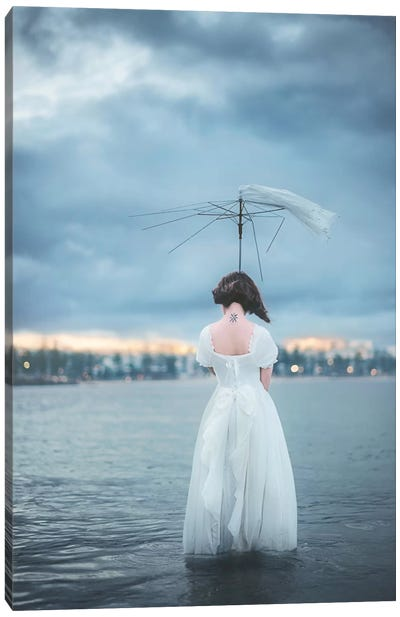 Umbrella Canvas Art Print