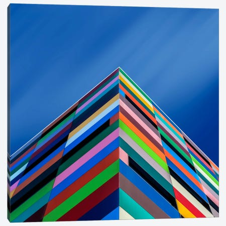 Color Pyramid Canvas Print #OXM2543} by Alfonso Novillo Art Print