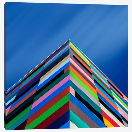 Color Pyramid Canvas Print #OXM2543} by Alfonso Novillo Art Print
