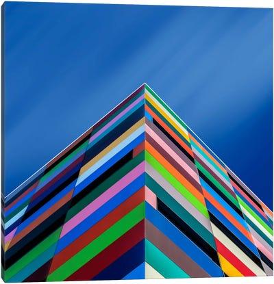 Color Pyramid Canvas Art Print