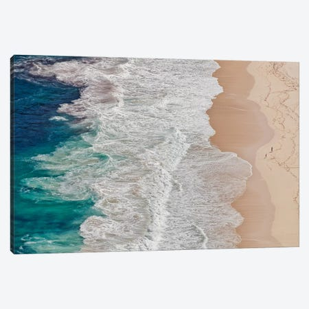 Where The Ocean Ends... Canvas Print #OXM2551} by Andreas Feldtkeller Canvas Artwork
