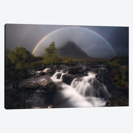 Etive Rainbow Canvas Print #OXM2554} by Antonio Prado Pérez Art Print