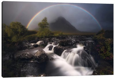 Etive Rainbow Canvas Art Print