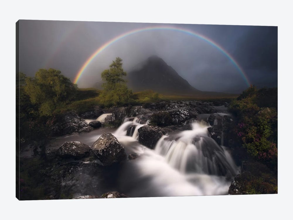 Etive Rainbow by Antonio Prado Pérez 1-piece Canvas Artwork