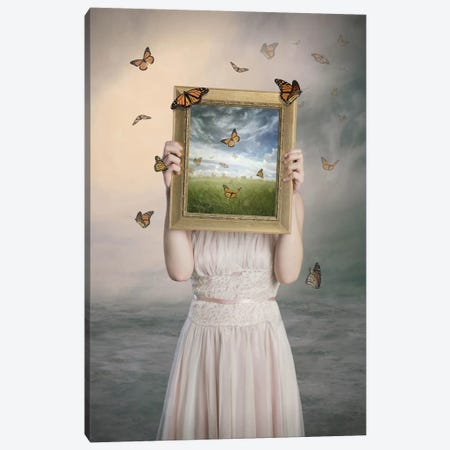 Set Them Free Canvas Print #OXM2555} by Baden Bowen Canvas Art Print