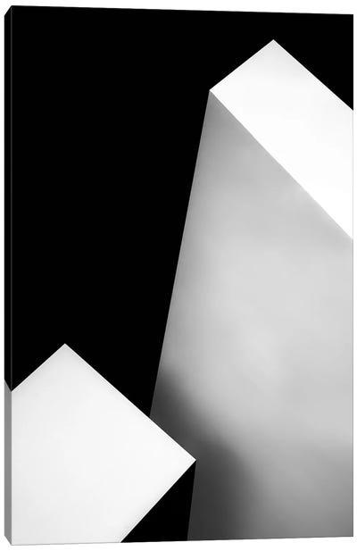 Nero Bianco Canvas Art Print