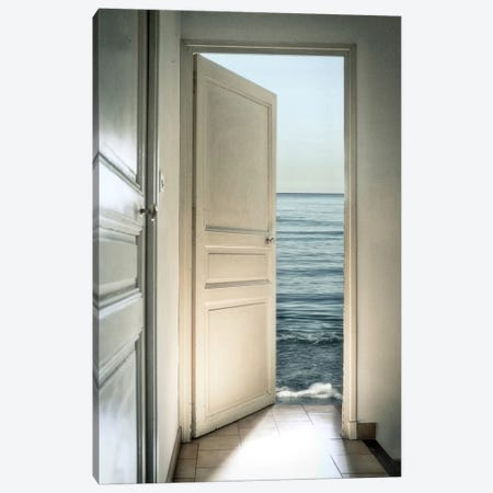 Behind The Door Canvas Print #OXM2563} by Christian Marcel Canvas Print