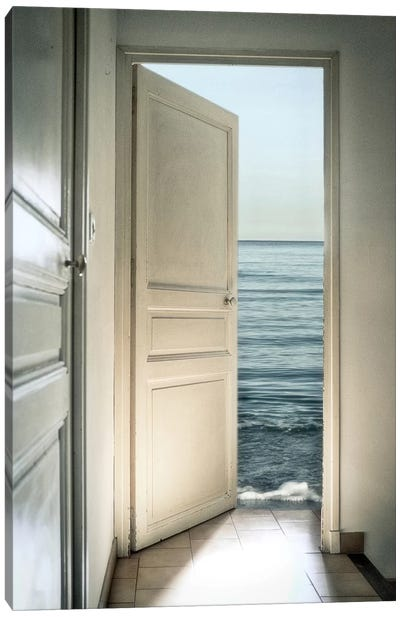 Behind The Door Canvas Art Print