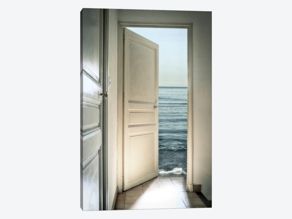 Behind The Door by Christian Marcel 1-piece Canvas Wall Art