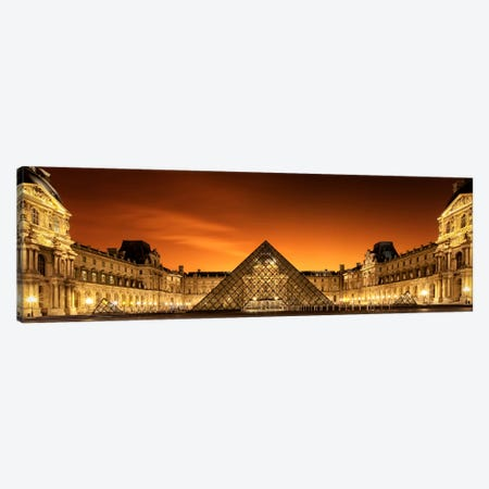 Old & New Canvas Print #OXM2566} by Christophe Kiciak Canvas Wall Art