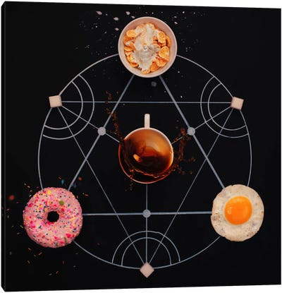 Breakfast Alchemy Canvas Art Print