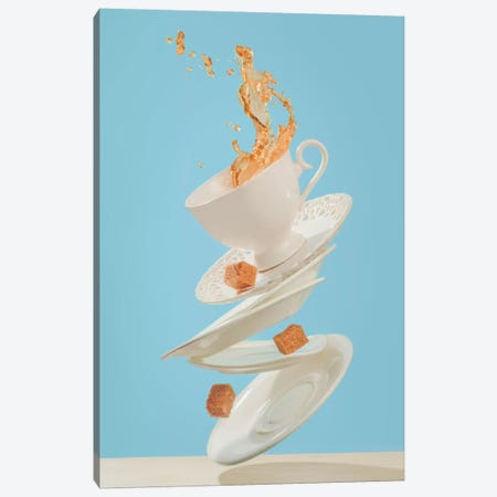 Coffee For A Stage Magician Canvas Print #OXM2570} by Dina Belenko Canvas Wall Art