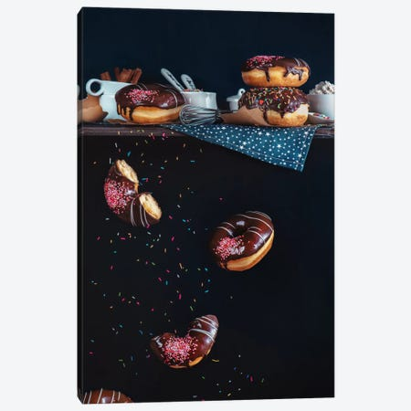 Donuts From The Top Shelf Canvas Print #OXM2572} by Dina Belenko Canvas Artwork