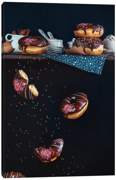 Donuts From The Top Shelf Canvas Art Print