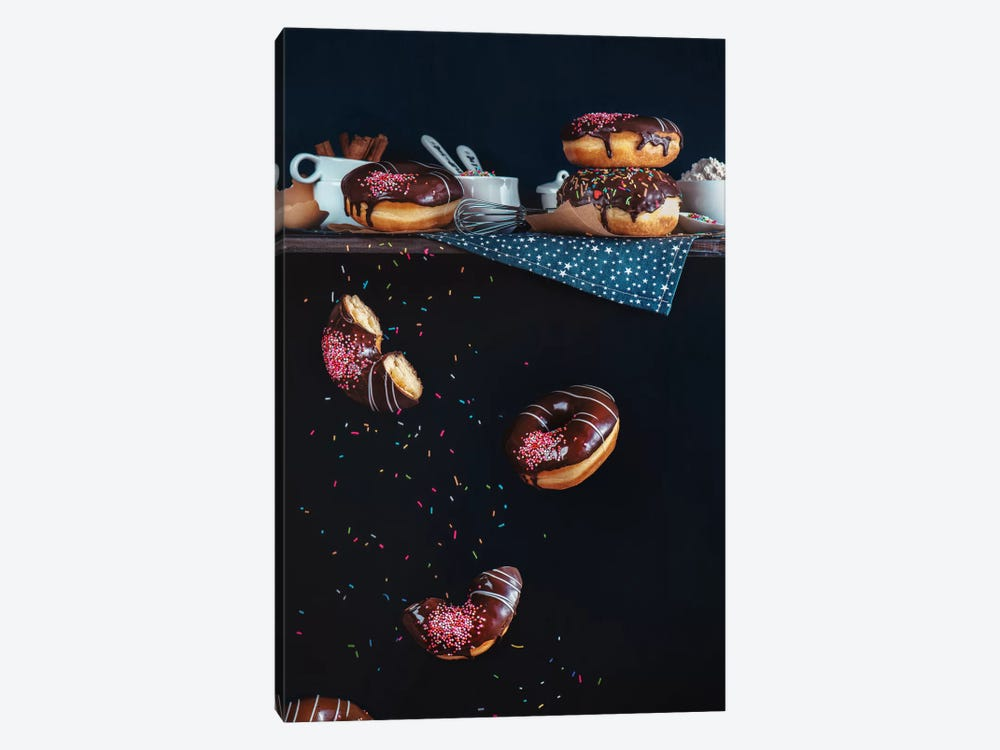 Donuts From The Top Shelf by Dina Belenko 1-piece Canvas Artwork