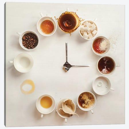 It's Always Coffee Time Canvas Print #OXM2573} by Dina Belenko Canvas Art