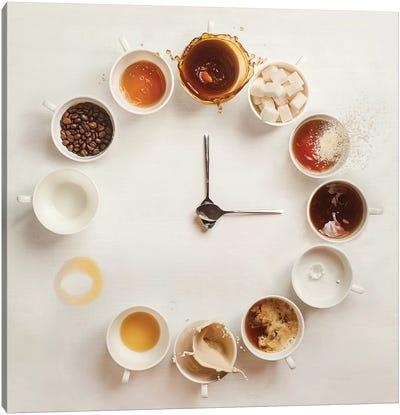 It's Always Coffee Time Canvas Art Print