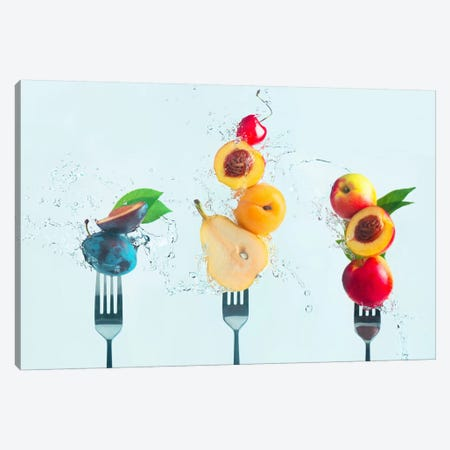 Making Fruit Salad Canvas Print #OXM2574} by Dina Belenko Canvas Print