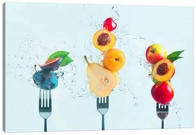 Making Fruit Salad Canvas Art Print