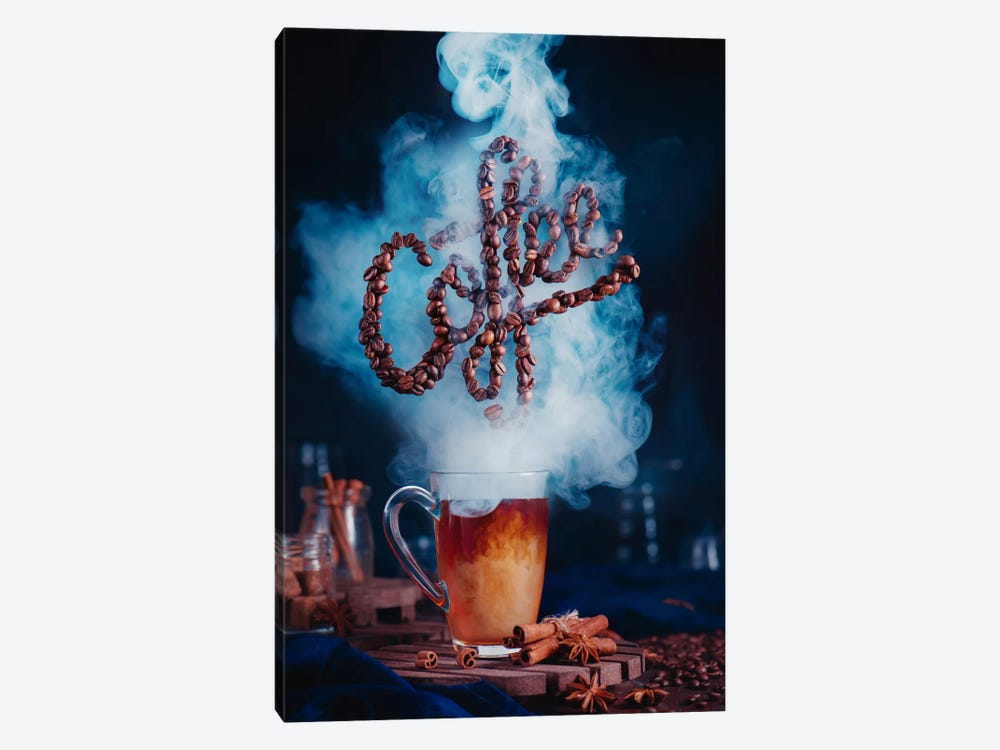 Smell The Coffee by Dina Belenko 1-piece Canvas Artwork