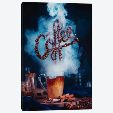 Smell The Coffee 3-Piece Canvas #OXM2576} by Dina Belenko Canvas Art Print