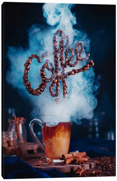 Smell The Coffee Canvas Art Print