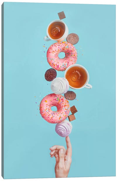 Weekend Donuts Canvas Art Print