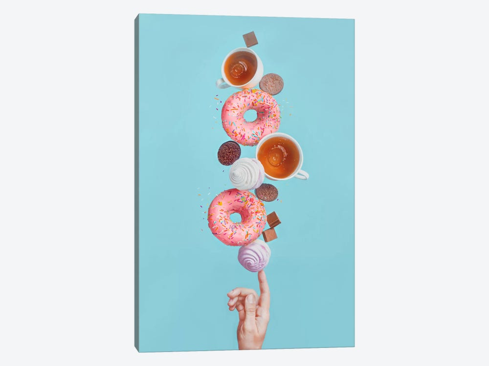 Weekend Donuts 1-piece Canvas Wall Art