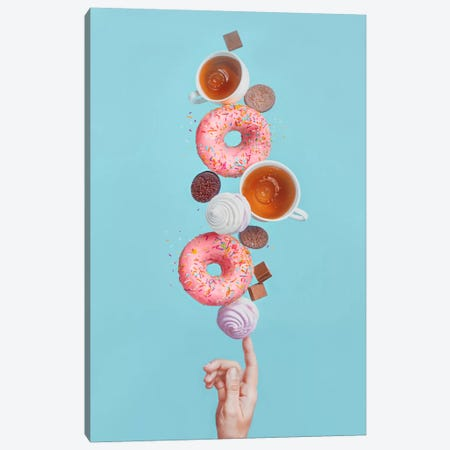 Weekend Donuts Canvas Print #OXM2581} by Dina Belenko Canvas Print